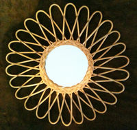Miroir en rotin Fidji - Bakker made with love Bakker made with love Déco du monde